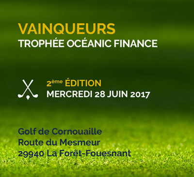 Tournoi de golf Océanic Finance